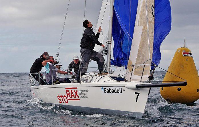 La clase J80 vuelve al agua este sábado en Baiona