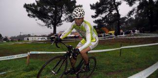 El ciclista de O Rosal, Adolfo Martínez, logró el segundo puesto en Igorre