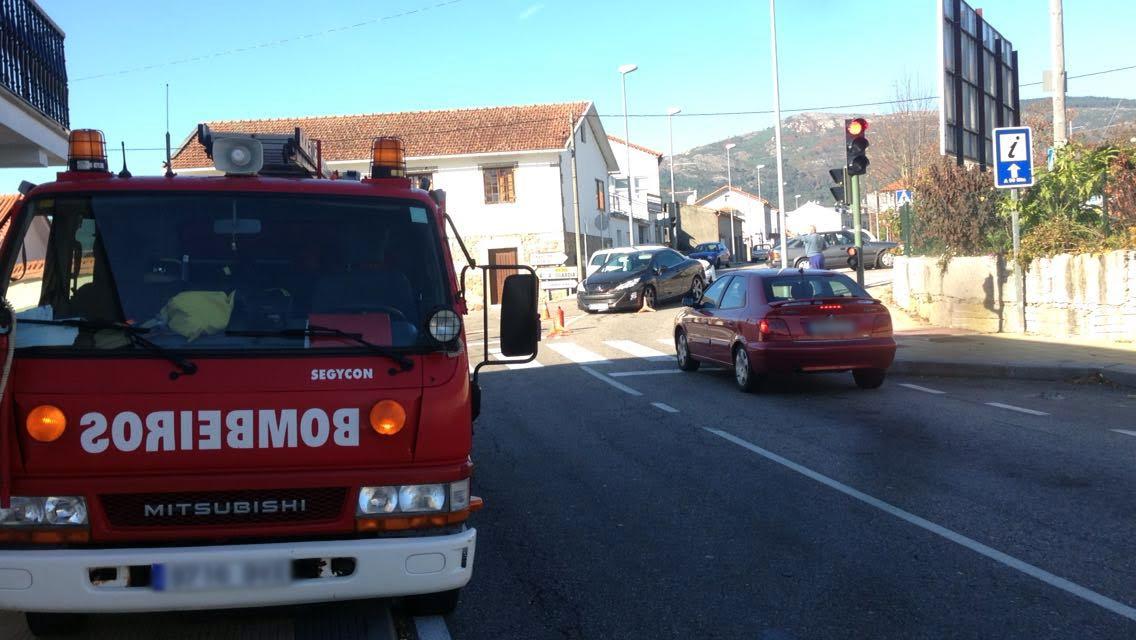 CEDIDA // El Ges de A Guarda en el accidente de tráfico.