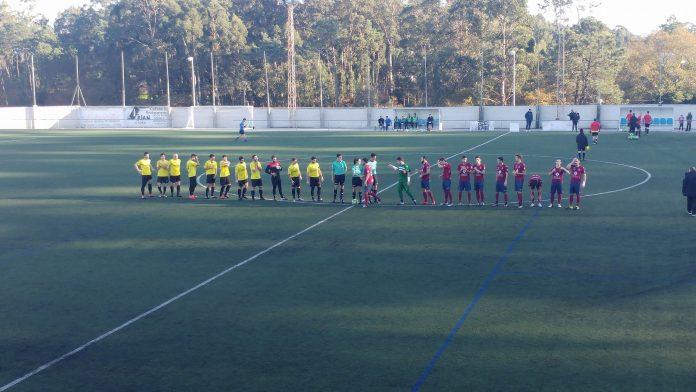 El Sporting Guardés empata en A Sangriña ante un buen Pontevedra B