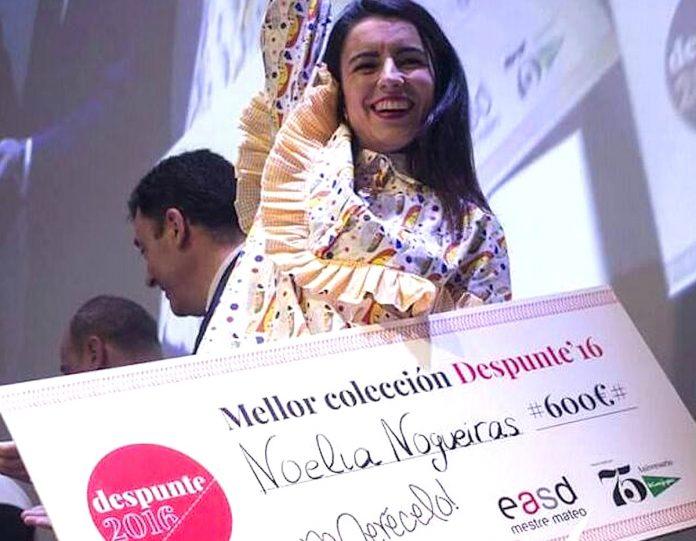 """Noelia Nogueiras, premio a la mejor colección """"Despunte´16"""""""