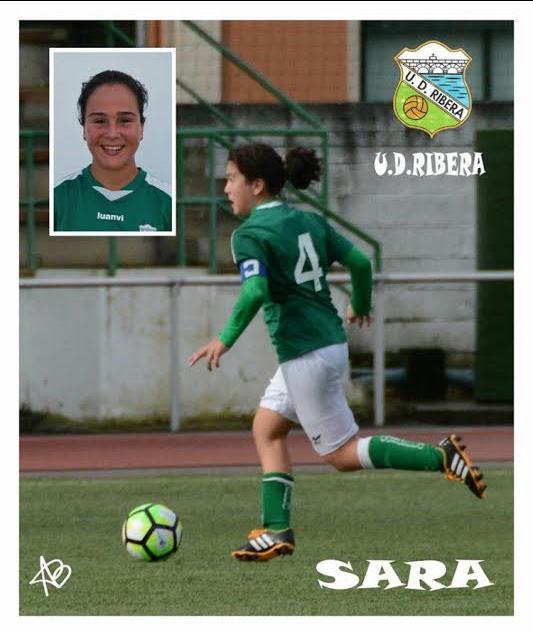Sara Álvarez, convocada con la selección gallega
