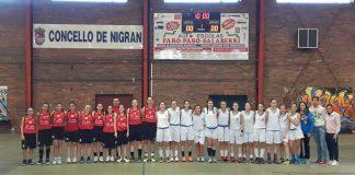 El Unami de Segovia regresa a casa después de un fin de semana de convivencia con el Club Baloncesto Nigrán