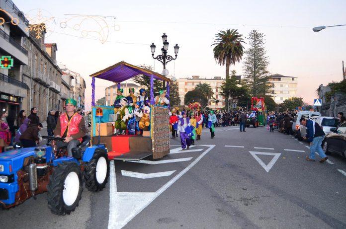 La Cabalgata de Reyes Magos y la Recepción Real despedirán la Navidad en A Guarda