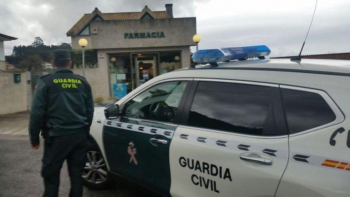 Detenido el presunto autor del atraco a una farmacia de Nigrán
