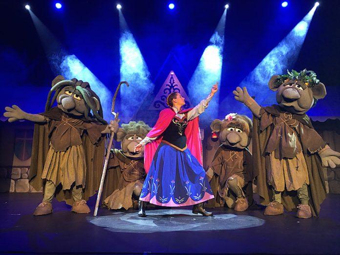 """El musical """"La reina de las nieves"""" llega este viernes a Baiona"""