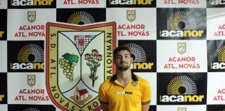 El Acanor Atlético Novás estará unos tres meses sin Miguel Sio por lesión