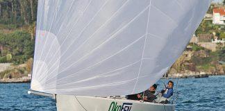 Vuelve la Liga de Invierno Clase J80 a la bahía de Baiona