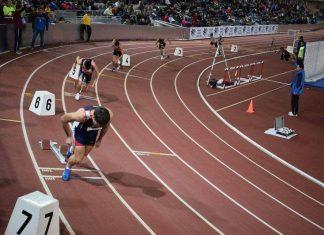 Triunfo en los 200 metros del guardés Sergio Rodríguez en Salamanca
