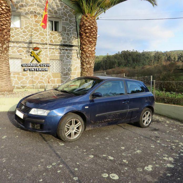 La Guardia Civil recupera en Cuntis un vehículo sustraído en Asturias