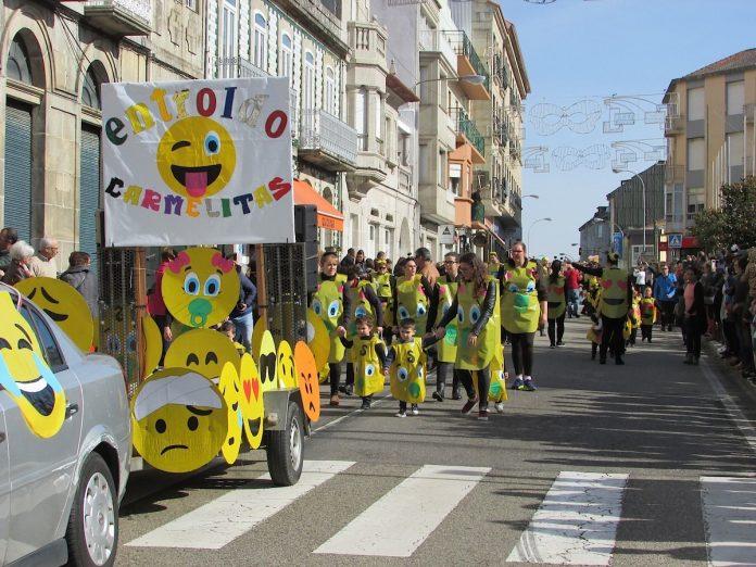 """El """"Entroido dos coles"""" pone el pistoletazo de salida a los carnavales en A Guarda"""