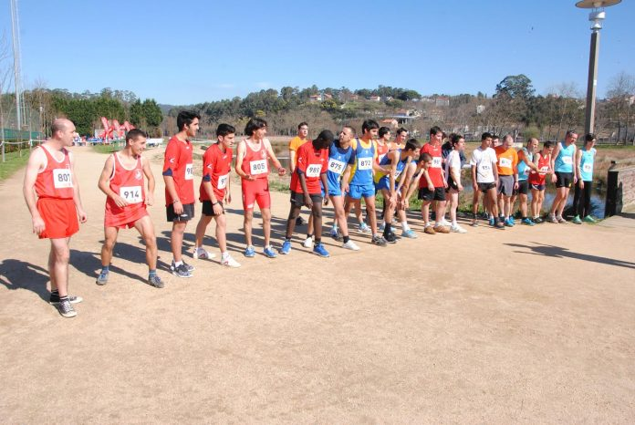 Cerca de 200 participantes en el campeonato gallego de campo a través celebrado en Pontevedra