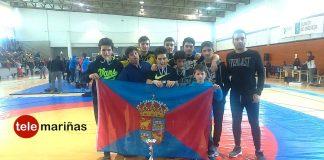 Cuatro medallas de oro, dos de plata y otras dos de bronce, para el Club de Loita Sabarís en el Campeonato de Galicia