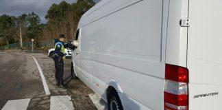La Policía Local intercepta en Tomiño a un conductor que perdió en 2015 todos los puntos del permiso de conducir