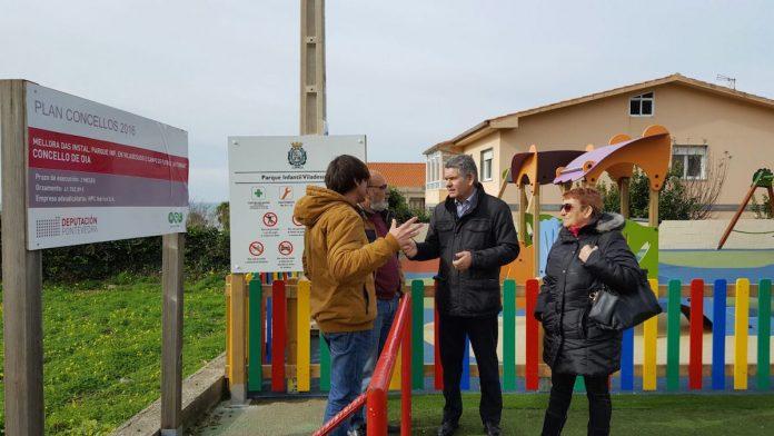 El diputado provincial de Turismo visitó Oia