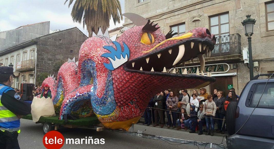 Fant Asia gana el concurso de desfile de comparsas de Gondomar