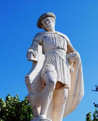 Baiona conmemora el 40 aniversario de la estatua de Pinzón