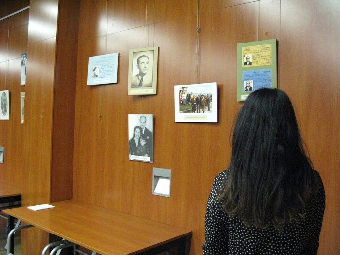 Una exposición fotográfica en Nigrán, plasma el horror del campo de concentración de Mauthausen