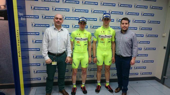 Guzmán y Abejón cierran la plantilla del Club Ciclista Rías Baixas de Nigrán