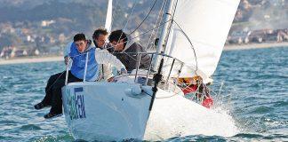 La Liga de Invierno Clase J80 llega a su ecuador este sábado en Baiona
