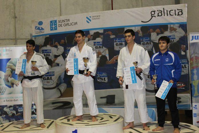 El judoka tomiñés Brais Pereira logra el oro en el Campeonato de Galicia