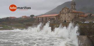 El temporal obliga a suspender las actividades en el exterior en todos los colegios de Galicia