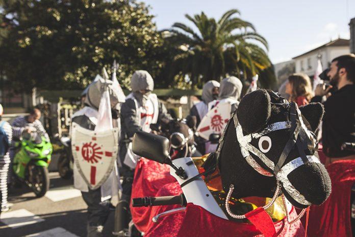 O Val Miñor acoge la tercera ruta motera de carnaval