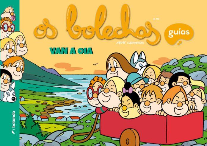 "El Concello de Oia edita el libro ""Os Bolechas van a Oia"""