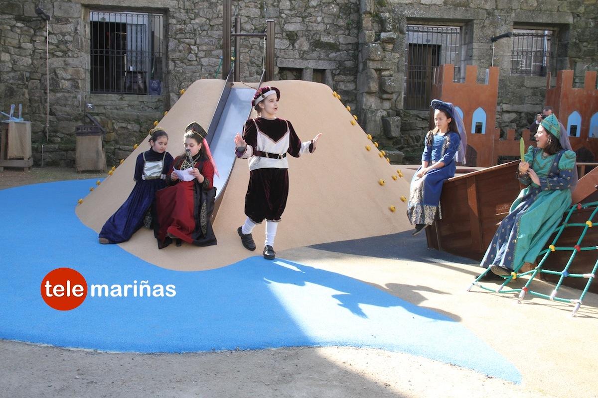 Baiona presenta la Festa da Arribada con el mercado medieval más grande de su historia
