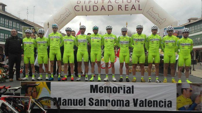 El Club Ciclista Rías Baixas de Nigrán se estrena esta temporada en Almagro