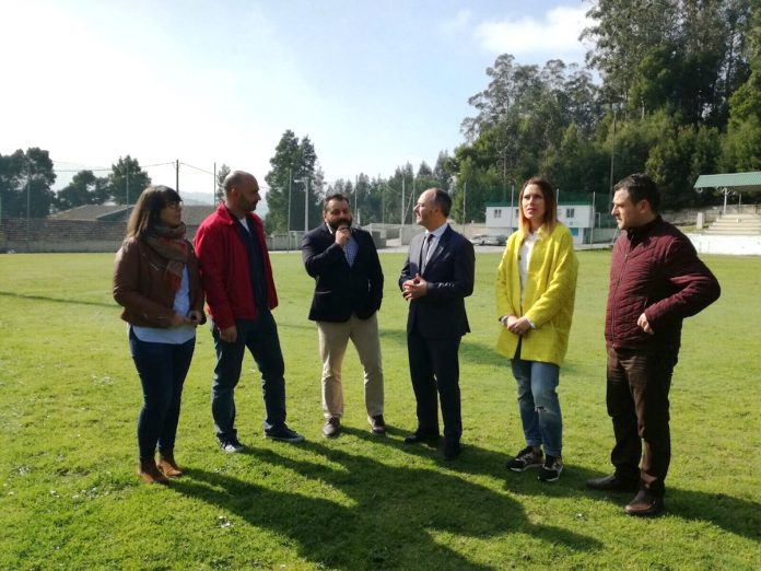 El diputado David Regades visita en Gondomar las obras financiadas por la Diputación