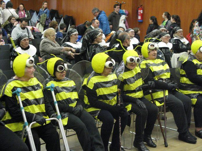 Los centros de día de O Val Miñor celebran el carnaval