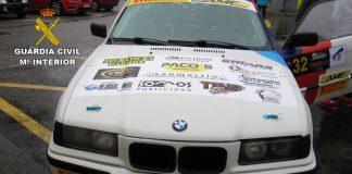 Tráfico localiza tres coches dados de baja compitiendo en el Rallymix de Cuntis