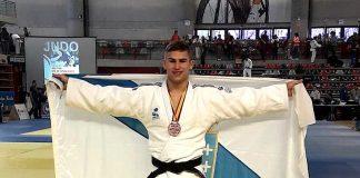 Medalla de bronce para el tomiñés Brais Pereira en el nacional de judo