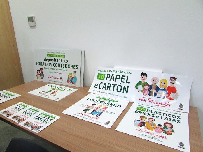 A Guarda presentó una campaña de sensibilización y difusión de la nueva ordenanza de la basura