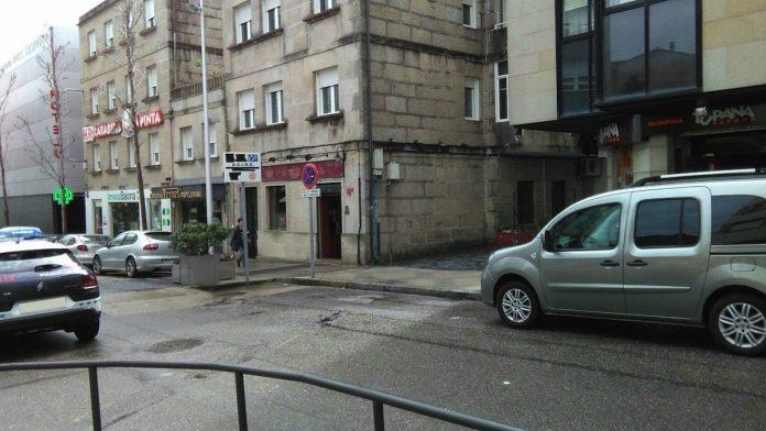 Las obras de humanización obligan a cortar la calle Ciudad de Vigo