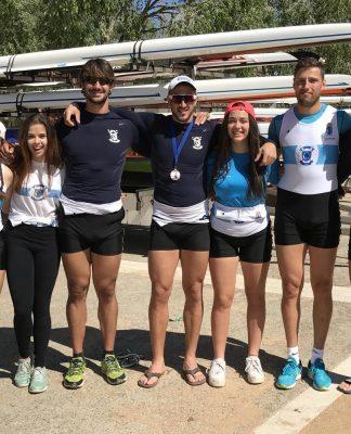 Grandes resultados para el Club Remo do Miño de Tui en el Open de España celebrado en Bañolas