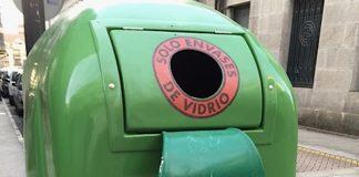 O Baixo Miño recicla casi 884 toneladas de vidrio