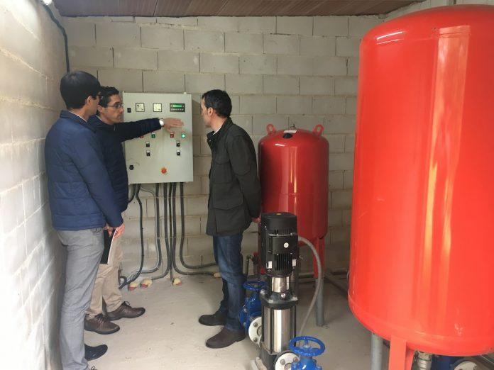 Nuevo depósito de agua potable en Caldelas de Tui