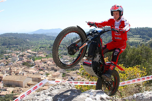 Triunfo del joven rosaleiro Gabriel Marcelli en Mallorca