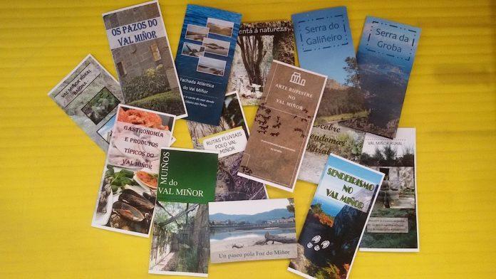 Crean una guía y folletos turísticos para promocionar O Val Miñor