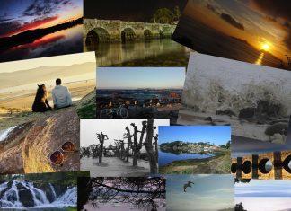 Exposición del I concurso de fotografía de paisajes de O Val Miñor en el Liceo Marítimo de Baiona