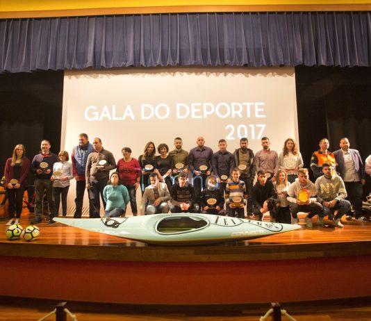 Tomiño premió a sus deportistas en la III Gala do Deporte