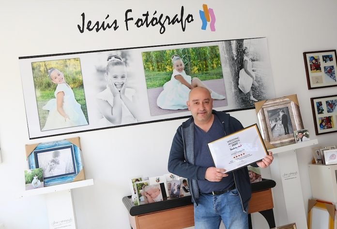 Jesús Fotógrafo premio Wedding Awards 2017