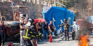 Marineros de toda Galicia se forman en temas de seguridad en el Monte Real Club de Yates de Baiona