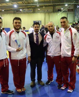 Bronce para Rubén Morais del Judo Club Tudense en Ferrol