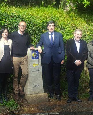 La Xunta de Galicia señaliza el Camino Portugués de la Costa a su paso por Nigrán