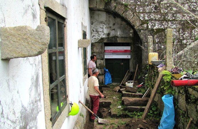 Baiona lleva a cabo reparaciones en la Casa del Concello