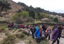 Más de 140 personas participaron en la primera andaina de A Guarda