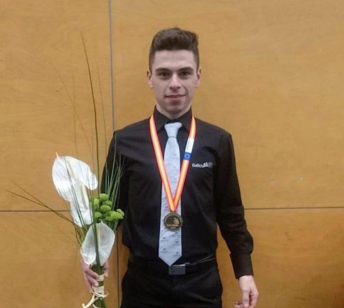 El rosalerio Raúl Fernández se proclamó campeón de España en las olimpiadas nacionales de formación profesional